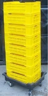 cesta plastica pequeña 60x40x15