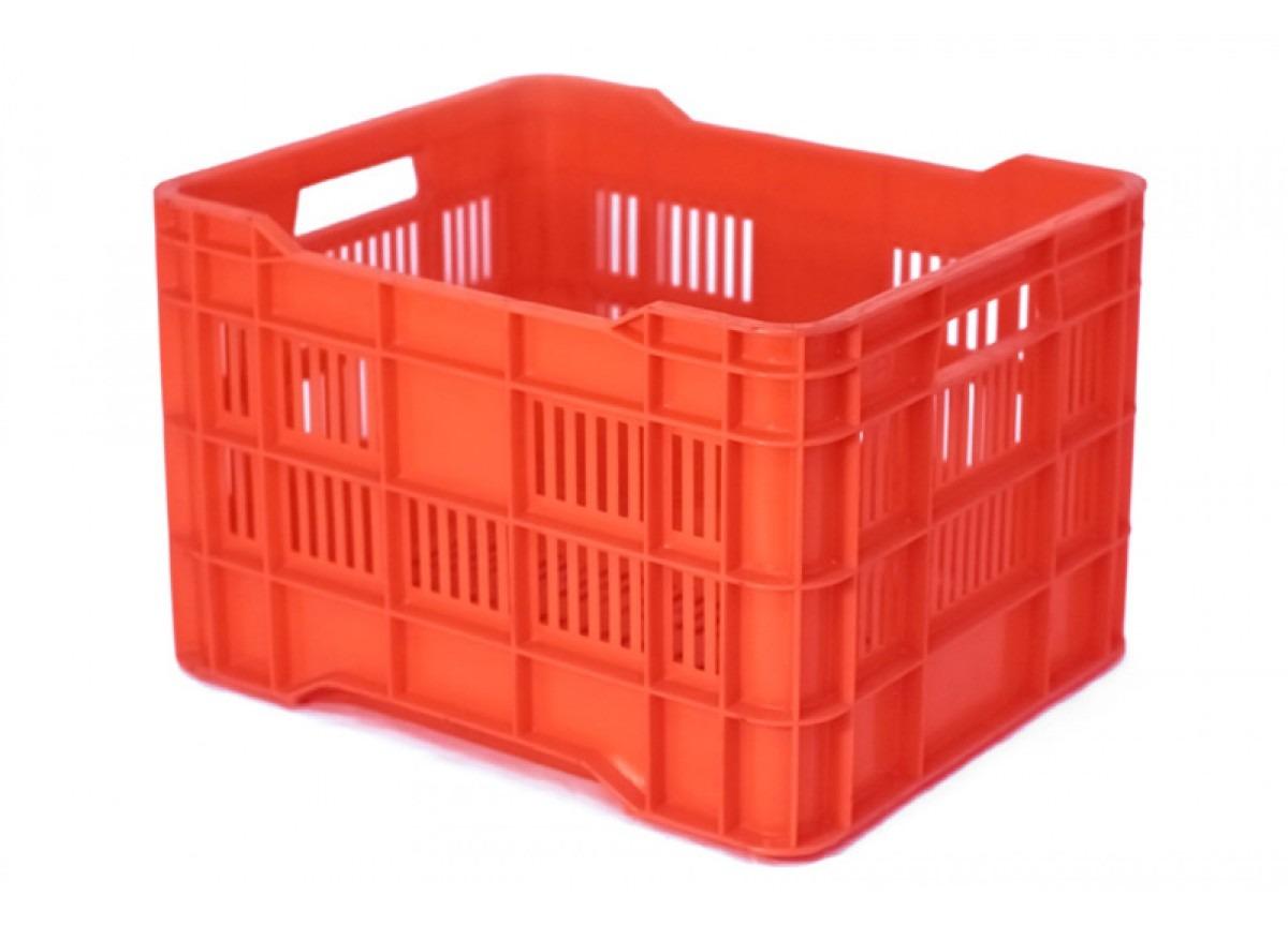 Cesta plastico caja mercado en mercado libre for Cajas de plastico precio