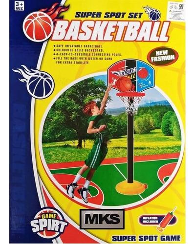 cesta tabela de basquete infantil om bola e bomba crianças