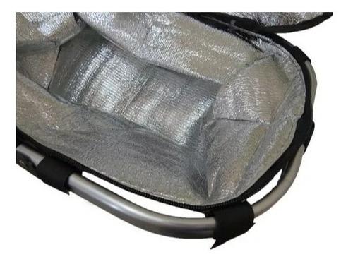cesta térmica para picnic piquenique desmontável dobravel