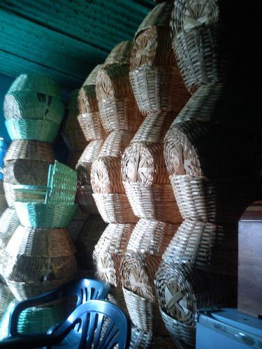 cestas artesanales fuertes al mayor 15mil unidads fabricante