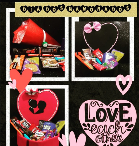 cestas - caixas - kit - buquês de chocolate