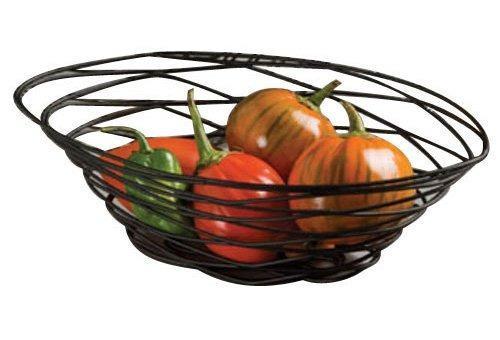 cestas de américa metalurgia frub18 metal birdnest, oval, ne