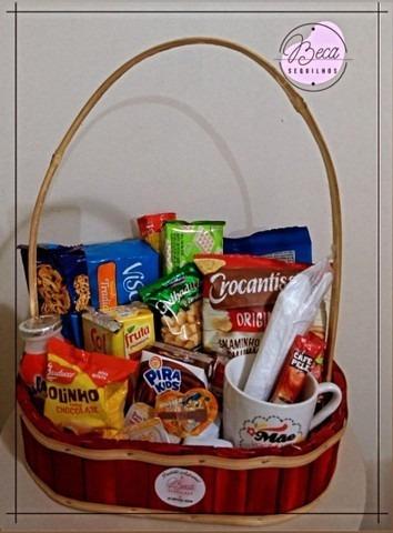 cestas de café da manhã (com alça)