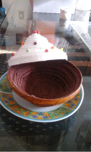cestas decorativas cupcake