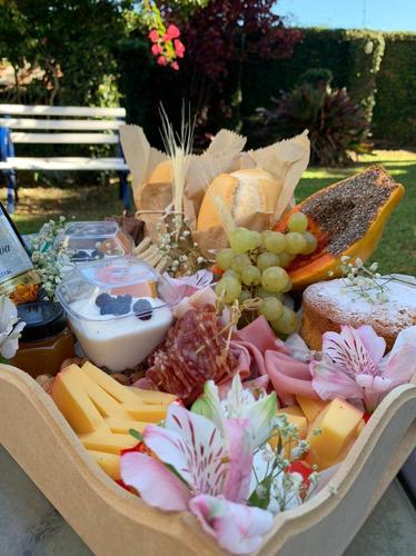 cestas e aperitivos