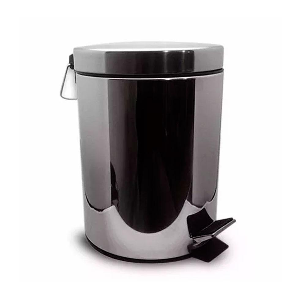 cesto acero inoxidable cromado 12 litros residuos papelero. Cargando zoom. 34048211f1da