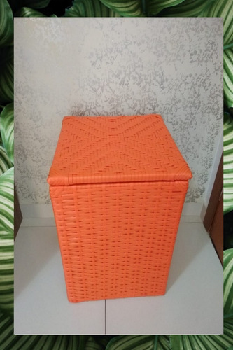cesto baú de fibra sintetica