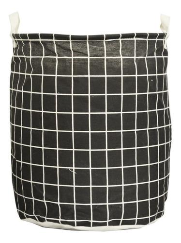 cesto bolsa canasto laundry chic ropa limpia / sucia organizador tela plegable con asa resistente envio happy buy