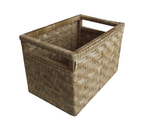 cesto caixote organizador taboa natural 45x30x30