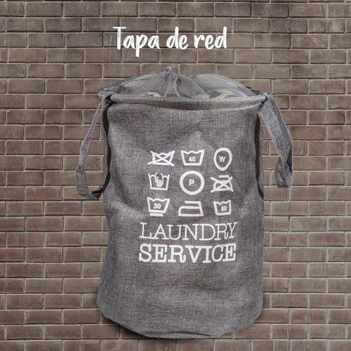 cesto canasto estampado ropa sucia laundry baño pc