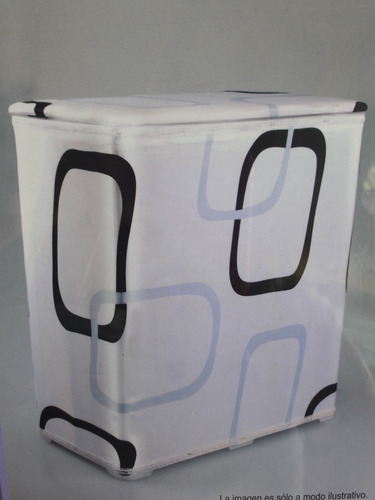 cesto canasto para ropa decorativo baño - organizador