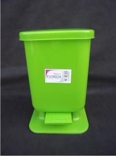 cesto de residuos a pedal de 13 ltrs. marca  florida