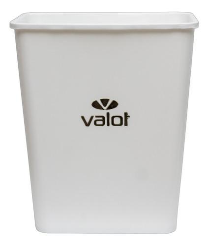 cesto de residuos baño oficina 22 lts valot oficial