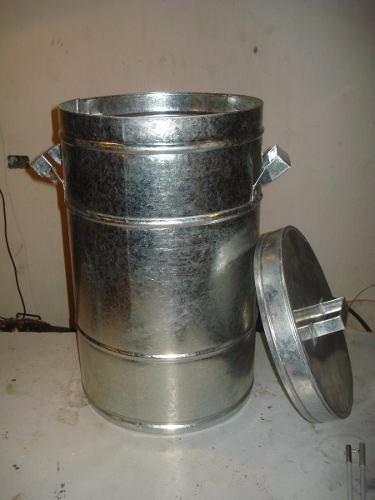 cesto de residuos chapa ,  gruesa zinc