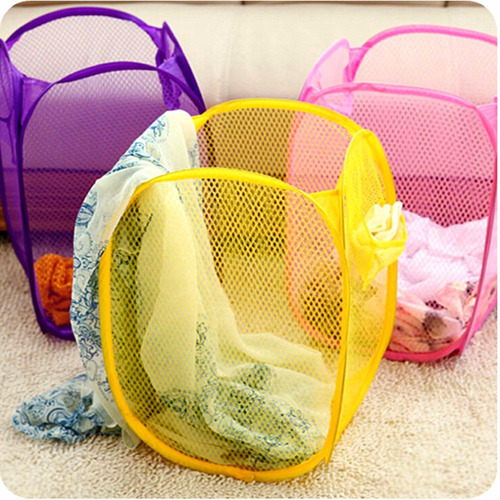 cesto magico plegable ropa sucia juguetes organizador x 2 un