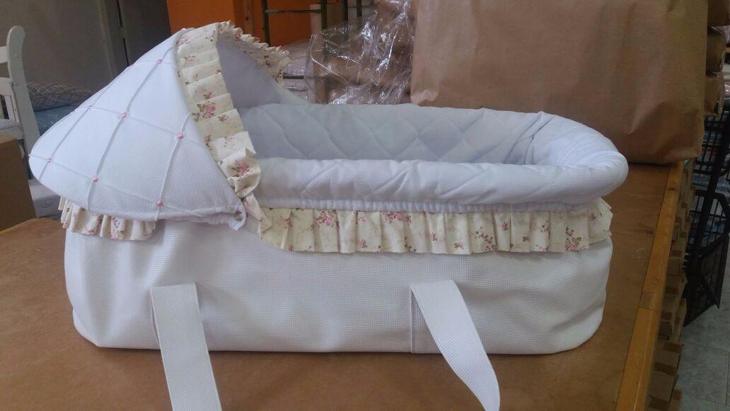 Cesto mois s menina cestinho para bebe dormir cesto d - Moises clasicos para bebes ...