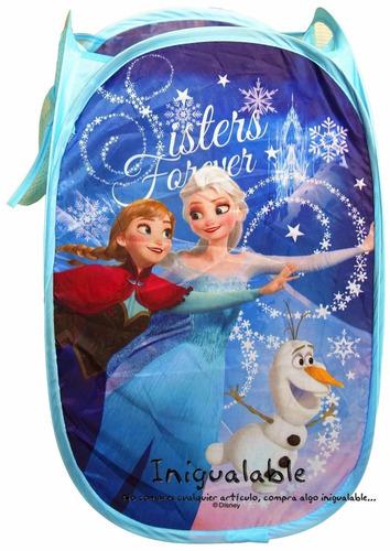 cesto para la ropa de niñas de las hermanas de frozen