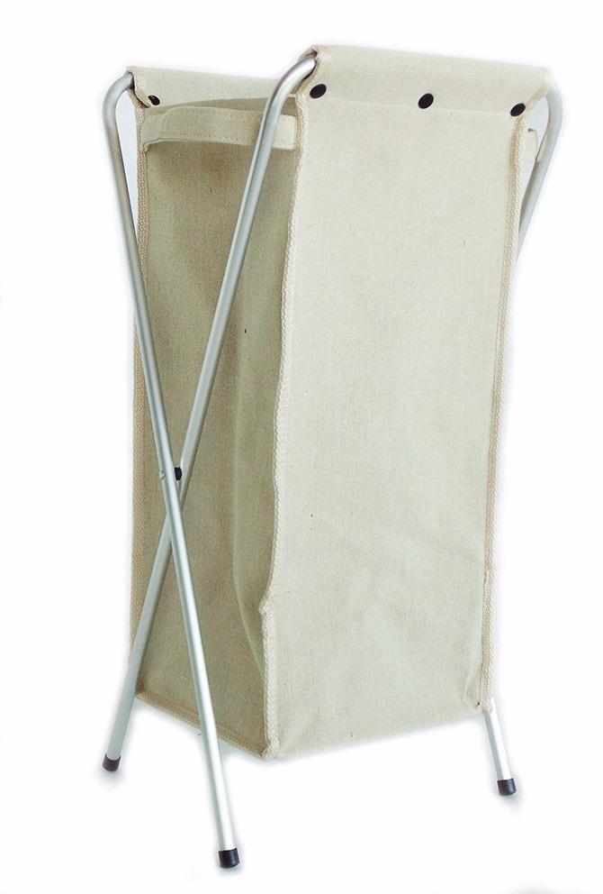 Cesto para ropa de tela x color beige recamara ropero - Cestos ropa sucia modernos ...