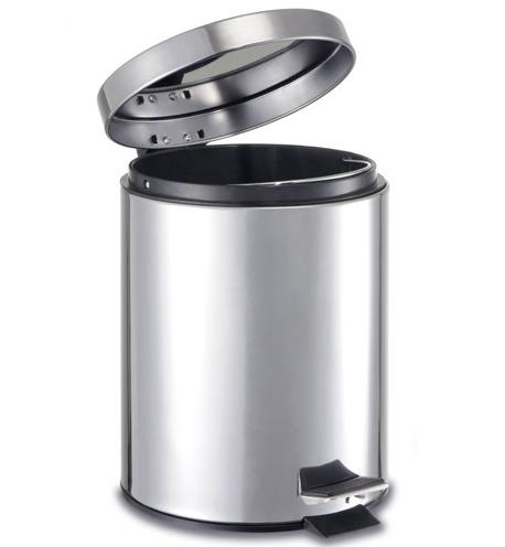 Cesto pedal inox betterware bote basura ba o cocina for Objetivo de bano de basura