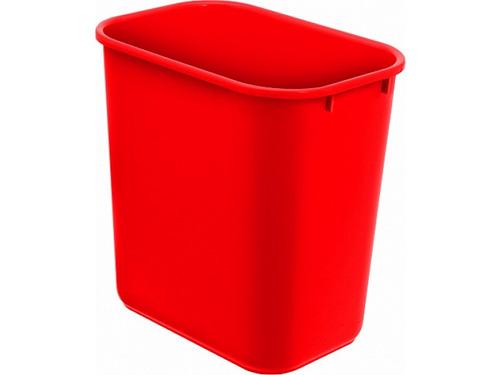 cesto plastico vermelho acrimet