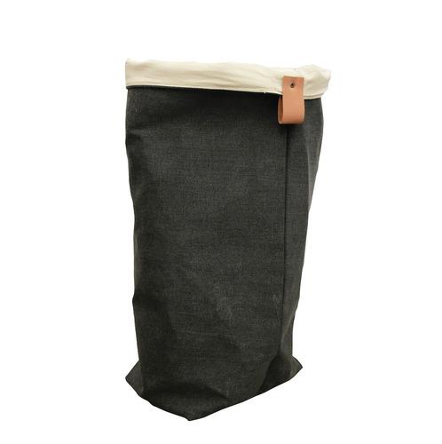 cesto ropa sucia canasto organizador tela lona natural
