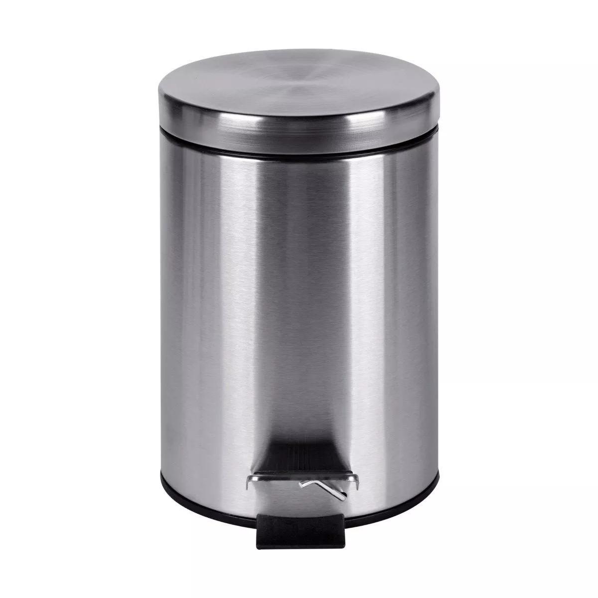 cesto tacho de basura acero inoxidable con pedal 12 litros. Cargando zoom. 88e5cf00e0f5
