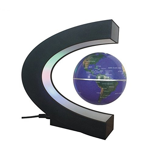 Cestore c shape magnetic levitation floating world map glob cestore c shape magnetic levitation floating world map glob gumiabroncs Images