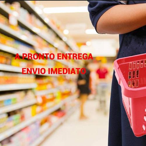 cestos cestinhos vermelhos loja kit 15 unidades