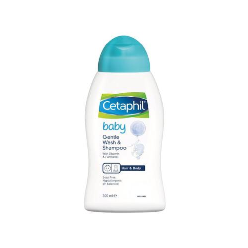 cetaphil kit baby recien nacido shampoo + locion + aceite
