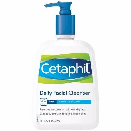 cetaphil limpiador facial diario para piel normal a grasa