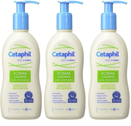 cetaphil restoraderm eczema hidratante calmante para el cue