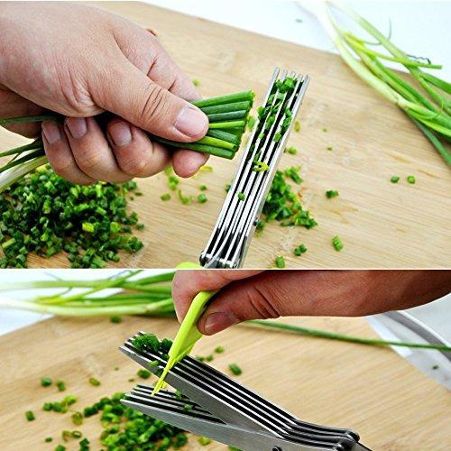 cethias tijeras de hierbas, cocina multiuso