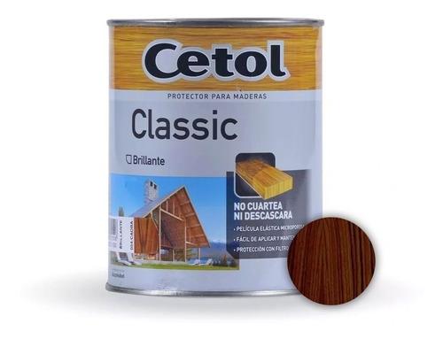 cetol classic brillante impregnante madera x 4lts - prestigio