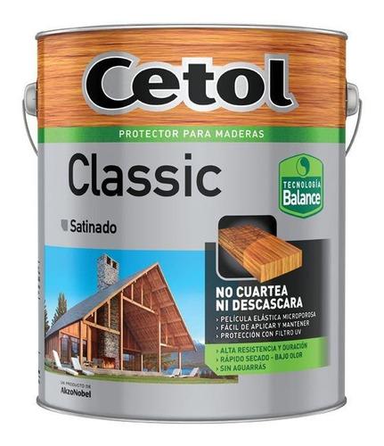 cetol classic satinado balance s/aguarras! s/olor 4l pintumm