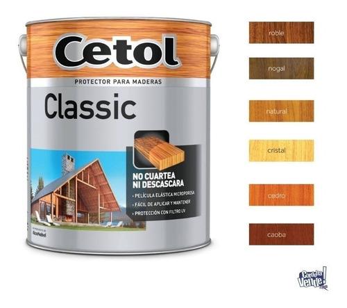 cetol classic satinado impregnante protector exterior x 4lts