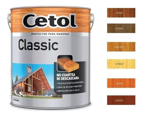 cetol exterior brillante 4 lt protector madera pintumm