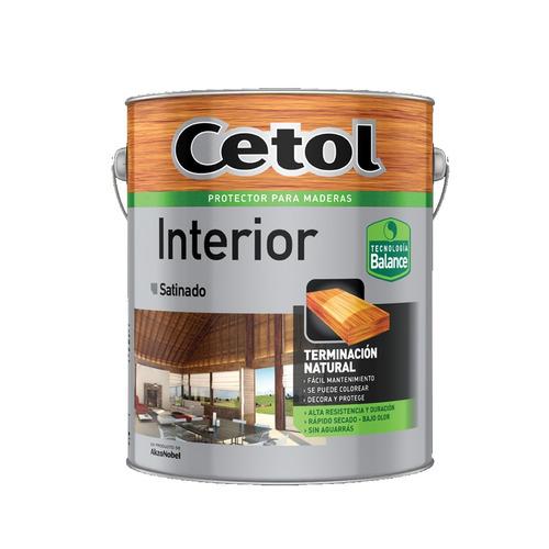 cetol interior balance satinado 4 litros al agua s/ olor mm