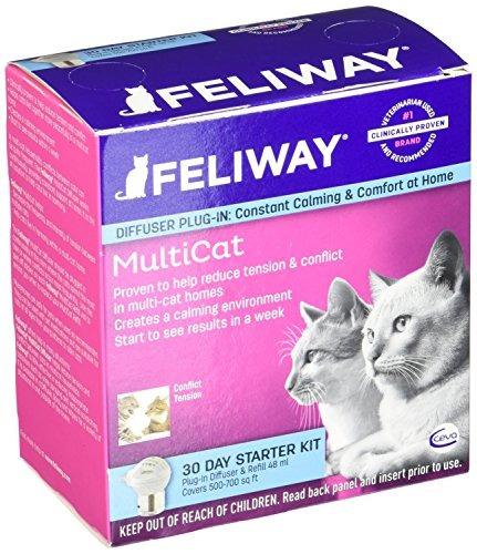 ceva salud animal d b feliway multicat starter kit, 48ml