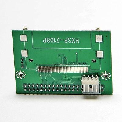 cf ide 40pin 3.5  adaptador convertidor booteable disco boot