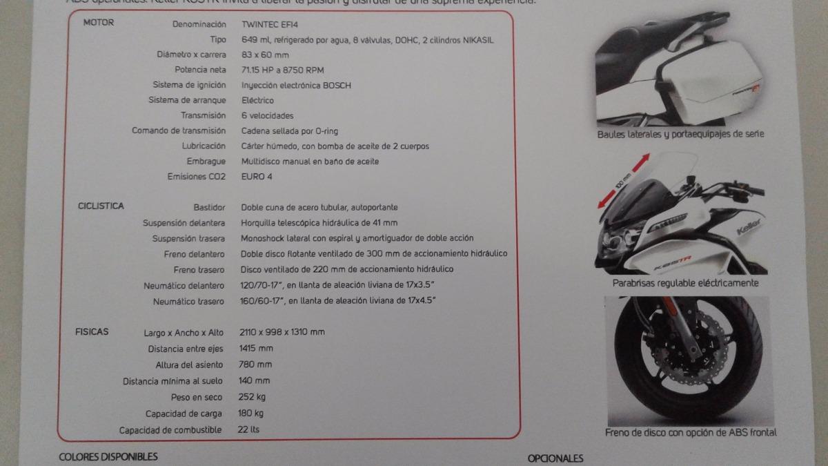 Cf Moto K 65 T.r.!!! La Touring Diferente !!!! - $ 326.500 en ...