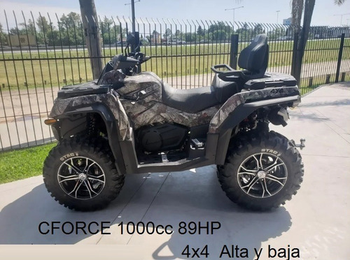 cf moto u force 1000  0km facil en $  gs motorcycle