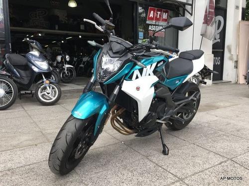cf motos nk 400 0km c/abs autoport motos