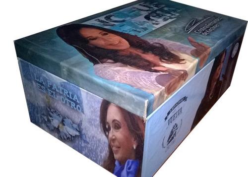 cfk sinceramente caja de madera personalizada cristina