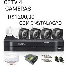 cftv 4 cameras