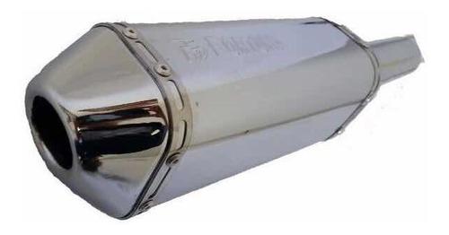 cg 150 titan ks/ es até 2008 escapamento f1 mini tri fortuna