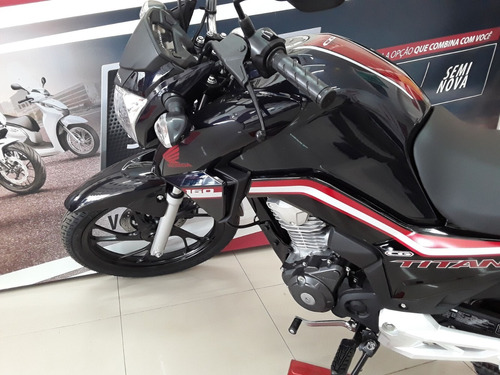 cg 160 titan cbs flex modelo 2020 - ainda mais linda vd/troc