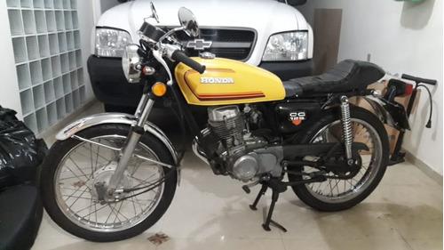 cg bolinha 125 1981 + kit cafe racer