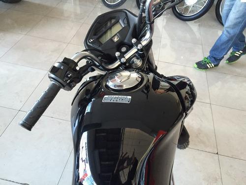 cg titan 150 2017 0km honda roja negra nueva moto sur