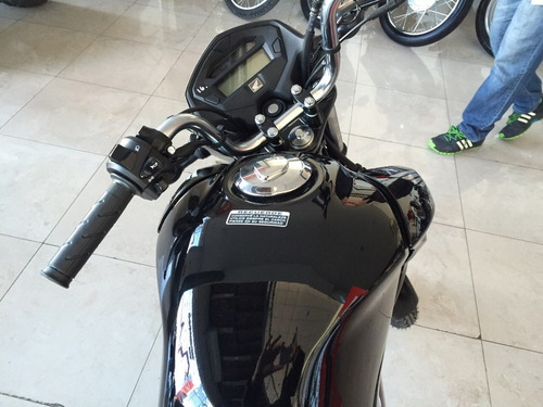 cg titan 150 2018 0km honda roja negra nueva moto sur
